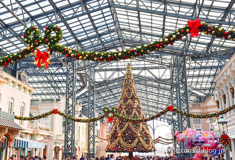 東京ディズニーランドクリスマスツリー
