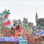 ディズニーランド クリスマスパレード ミッキー登場
