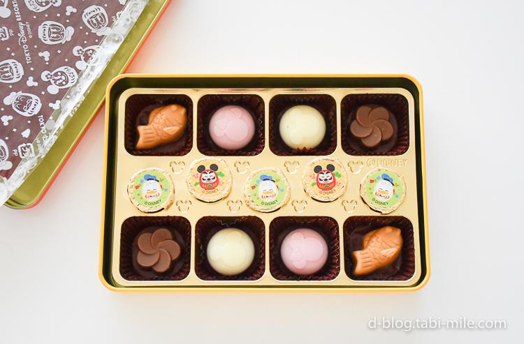 ディズニーランド 謹賀新年 チョコレート 5種