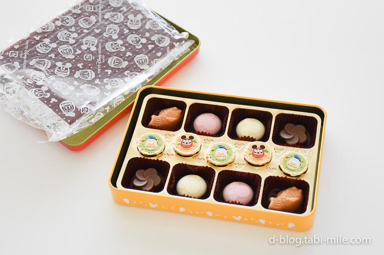 ディズニーランド 謹賀新年 チョコレート キャラクター