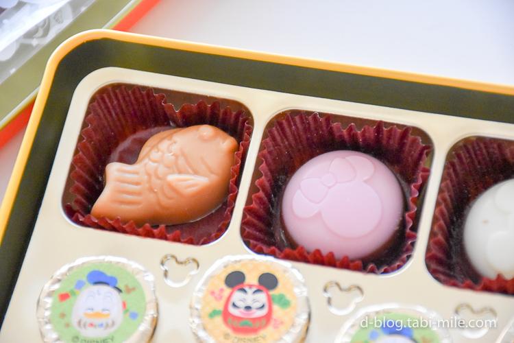 ディズニーランド 謹賀新年 チョコレート きなこ味イチゴ味