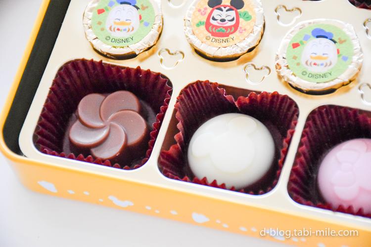ディズニーランド 謹賀新年 チョコレート ミルクチョコホワイトチョコ