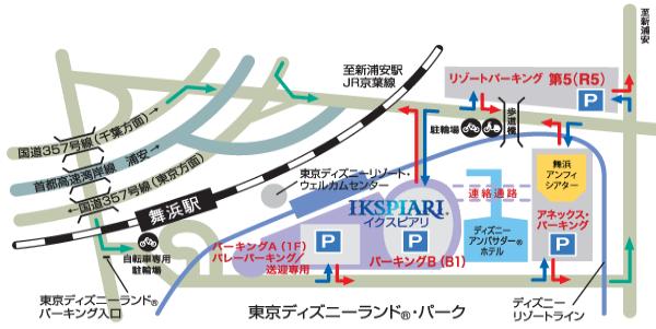 ikspiari-parking-map