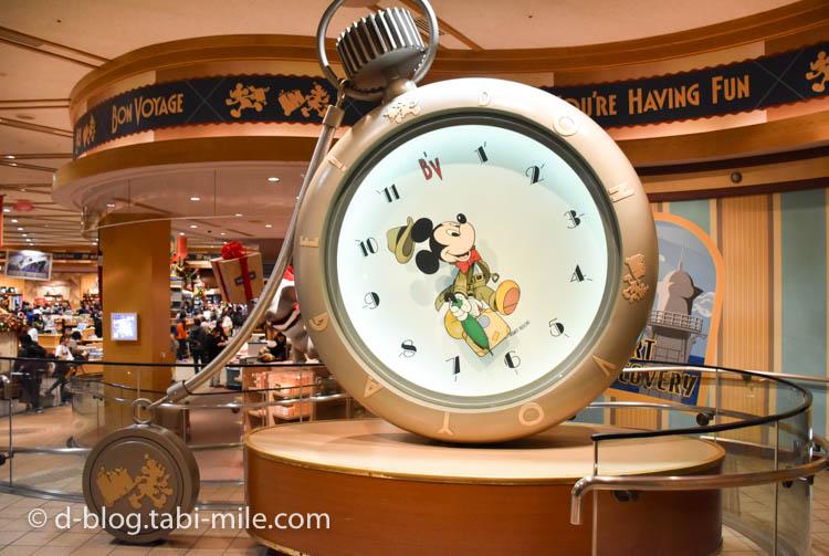 ボンボヤージュ ミッキーの時計