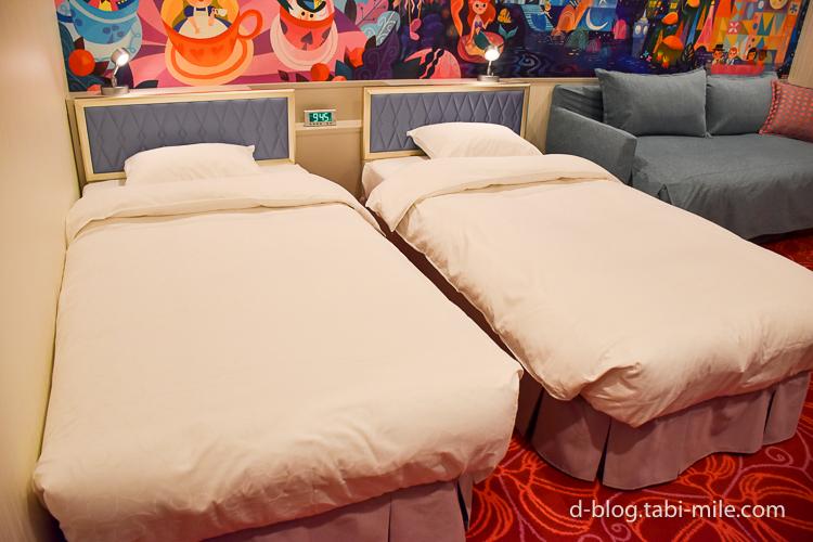 セレブレーションホテル ウィッシュ 部屋 ベッド