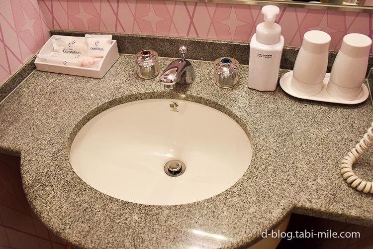 セレブレーションホテル ウィッシュ 部屋 洗面所