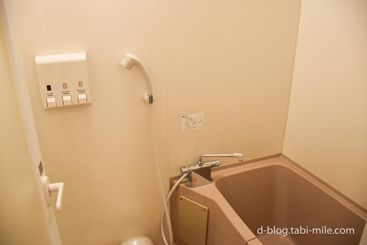 セレブレーションホテル ウィッシュ 部屋 風呂 シャワー バスタブ
