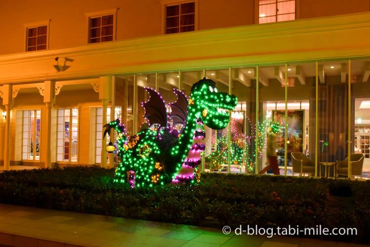 セレブレーションホテル 中庭 夜景