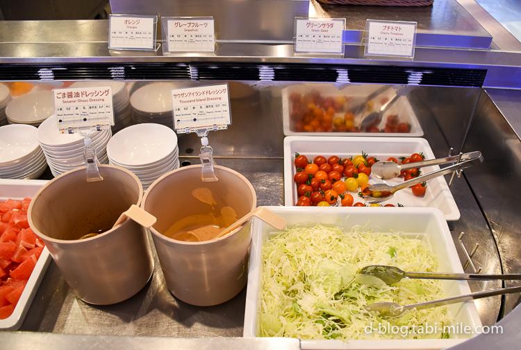 セレブレーションホテル 朝食 サラダ