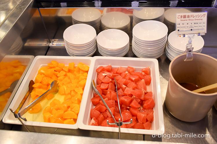 セレブレーションホテル 朝食 フルーツ