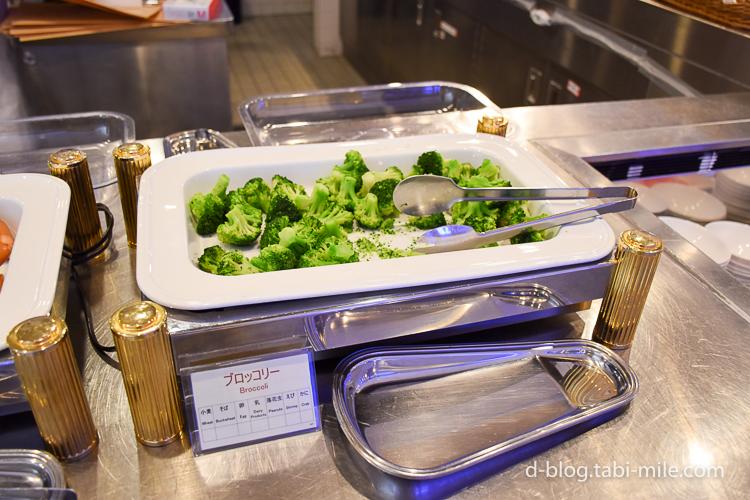 セレブレーションホテル 朝食 ブロッコリー
