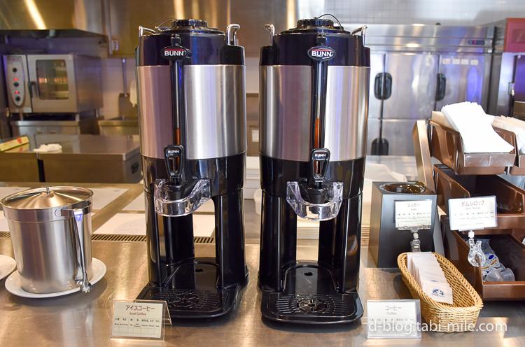 セレブレーションホテル 朝食 コーヒー