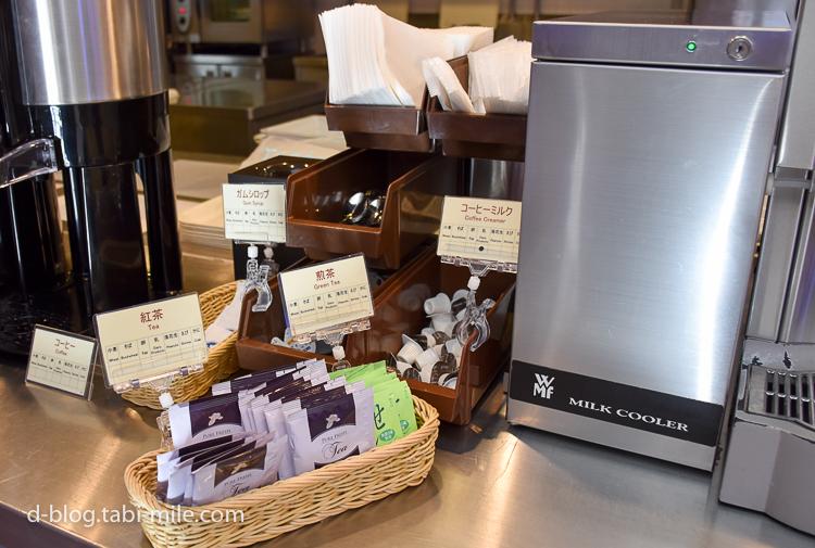セレブレーションホテル 朝食 紅茶 緑茶