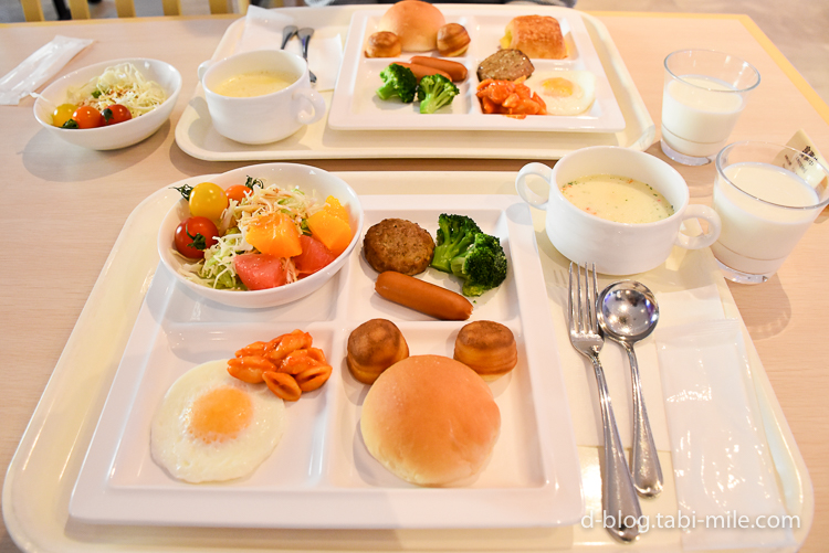 セレブレーションホテル 朝食 メニュー