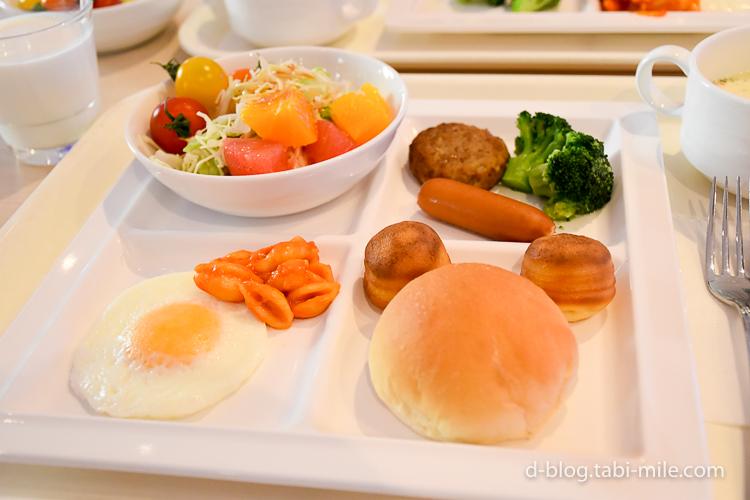 セレブレーションホテル 朝食 メニュー2