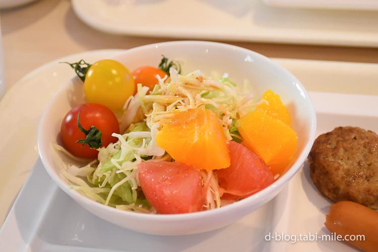 セレブレーションホテル 朝食 サラダ ミニトマト