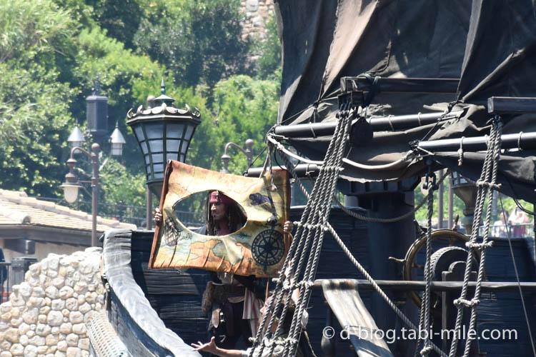 ディズニーシー パイレーツショー  海賊ジャック2