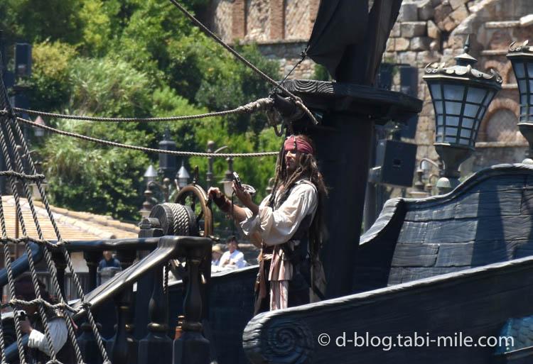 ディズニーシー パイレーツショー  海賊ジャック4