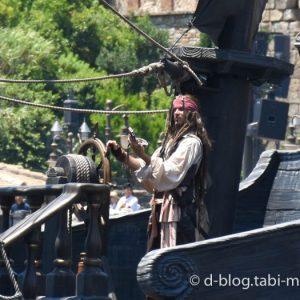 ディズニーシー パイレーツショー  海賊ジャック4 コンパス