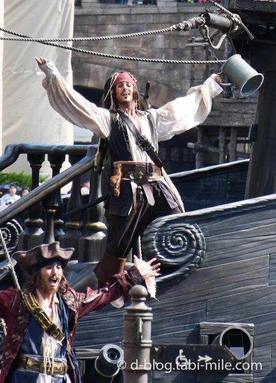 ィズニーシー パイレーツショー  海賊ジャック5
