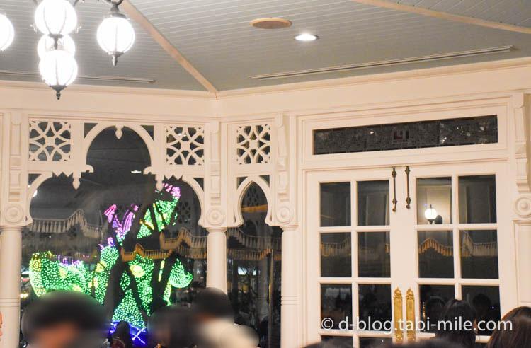 ディズニーランド プラザパビリオンレストラン 店内の様子