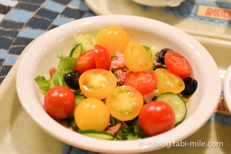 ディズニーランド プラザパビリオンレストラン ミニトマトのサラダ