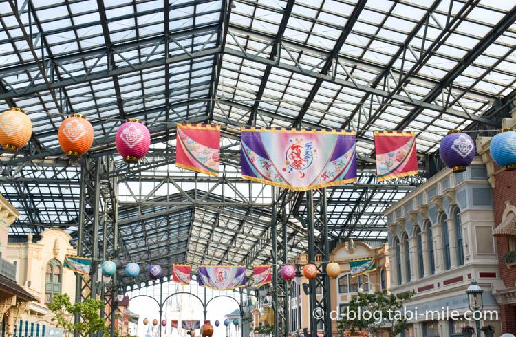 ディズニーランド夏祭り ワールドバザール1