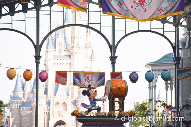ディズニーランド夏祭り ワールドバザール2