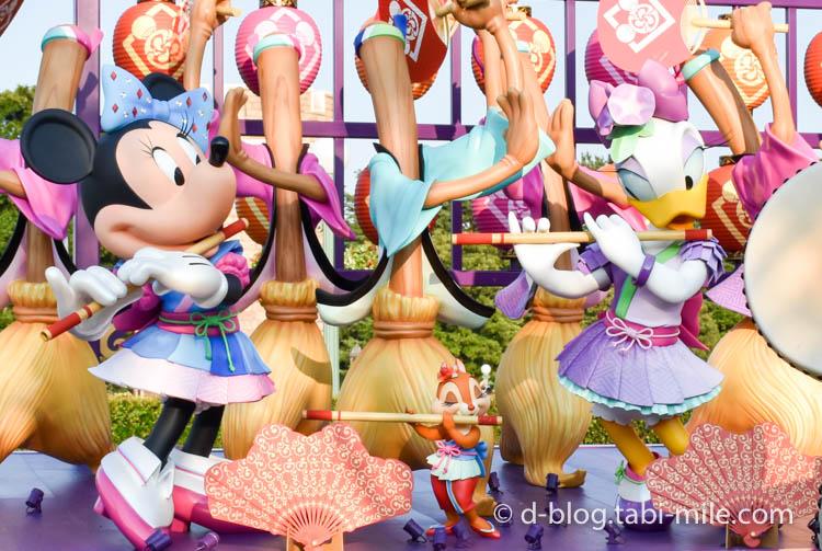 ディズニーランド夏祭り フォトロケーションミニー1