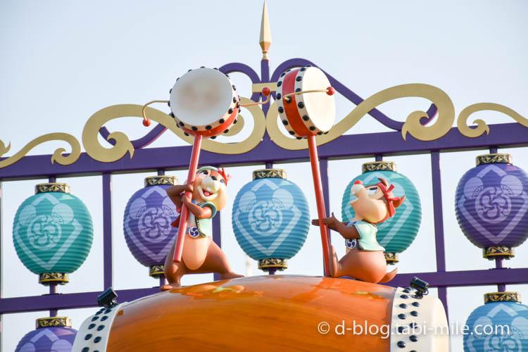 ディズニーランド夏祭り フォトロケーションドナルド2