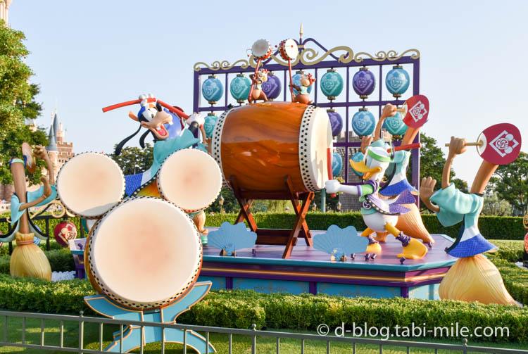 ディズニーランド夏祭り フォトロケーションドナルド1