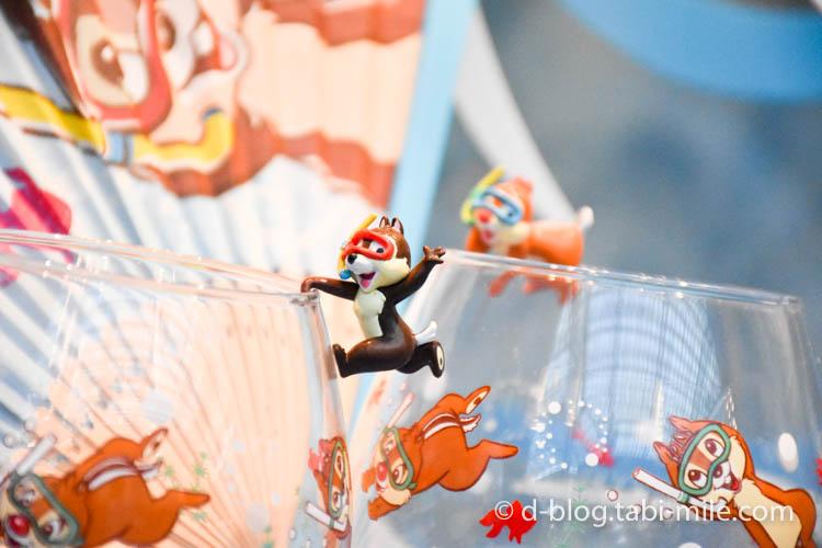 ディズニーランド夏祭り ワールドバザール ディズプレイチップ