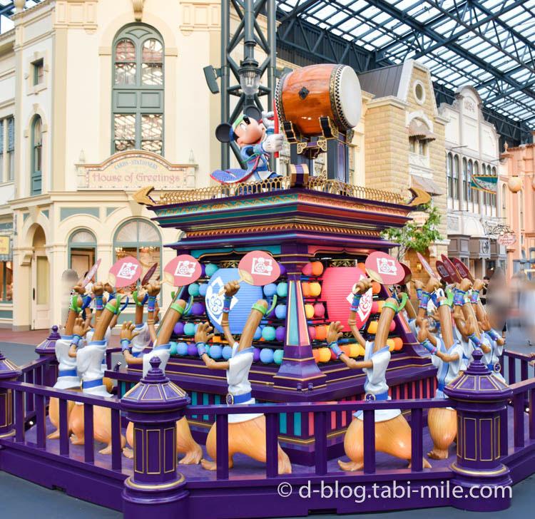 ディズニーランド夏祭り ワールドバザール4