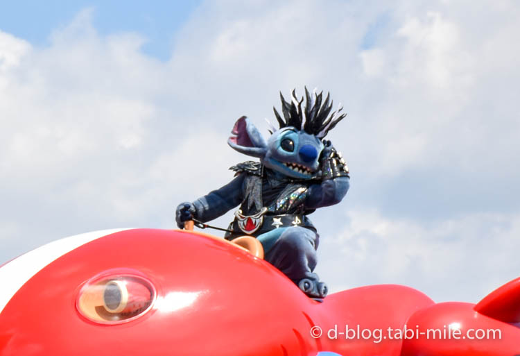ディズニーランド ハロウィンショー  キャラクター ステッチ1