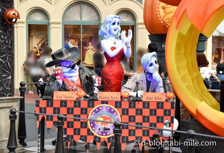 ディズニーランドハロウィン ワールドバザール フォトスポットかぼちゃ3